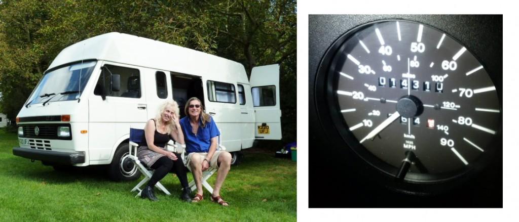 Russell Valentine & Yvonne's VW LT Mk 1
