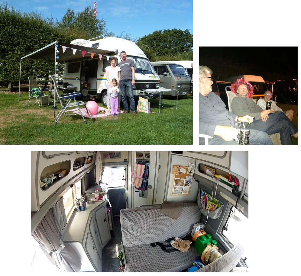 Tim Aldiss, Lucy & Lola's VW LT Mk 1 Westfalia Florida