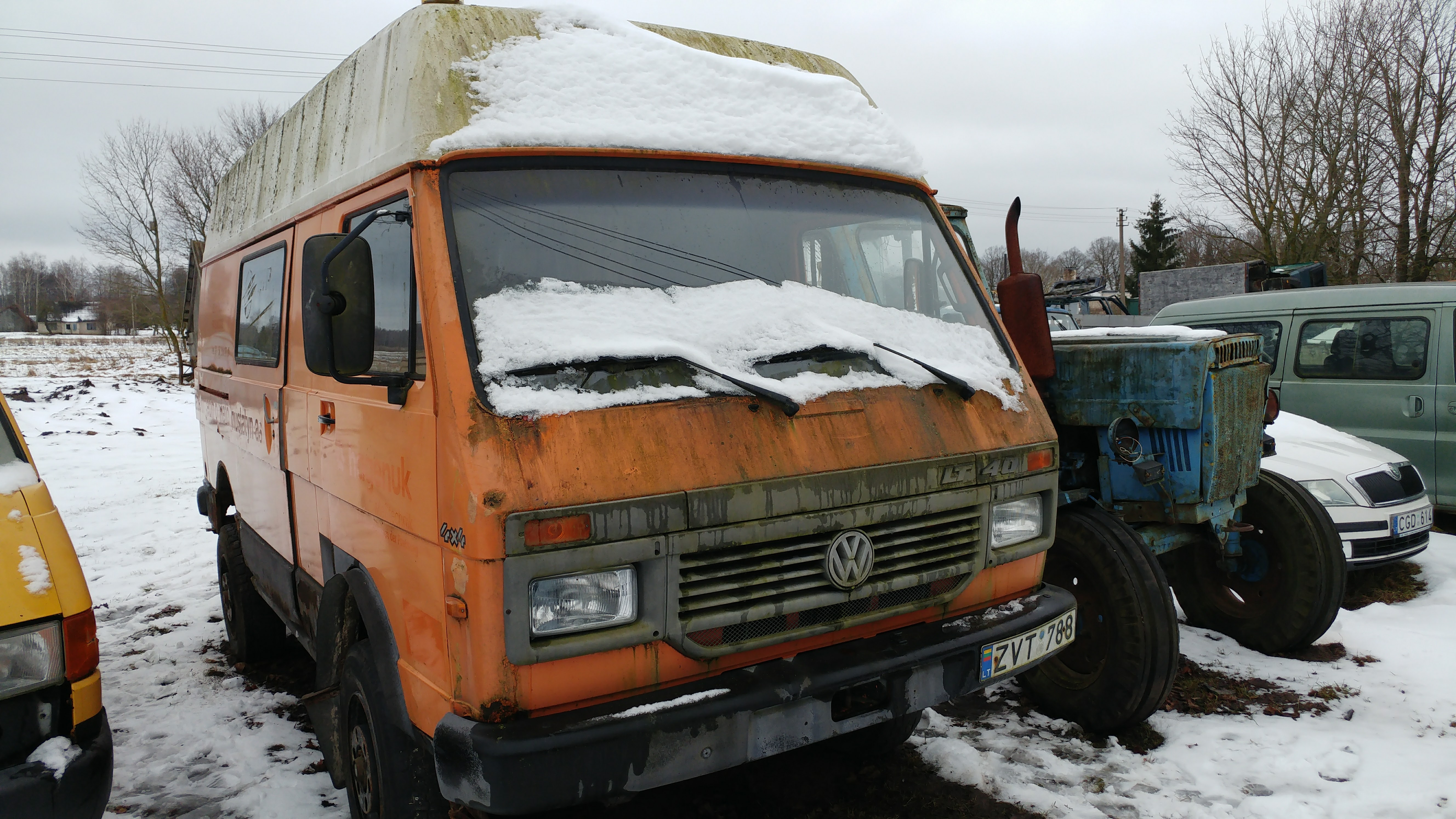 4 Wheel Drive Vans >> Rescuing 4x4 VW LT From Lithuania! - VWLT.co.uk