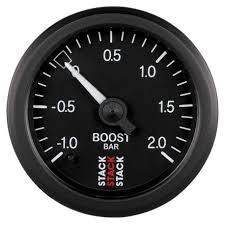 STACK gauge boost pressure 1- 2 bar (mechanical) | races-shop.com